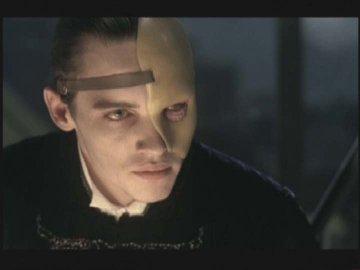 Jonathan Rhys-Meyers as Steerpike in Gormenghast