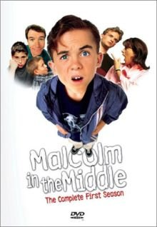 Malcolm in the Middle: The Complete First Season DVD cover art