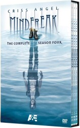 Criss Angel: Mindfreak: The Complete Season Four DVD cover art