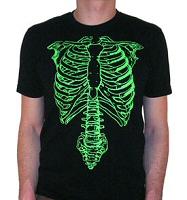 Nigel Tufnel from Spinal Tap: Green Skeleton T-Shirt