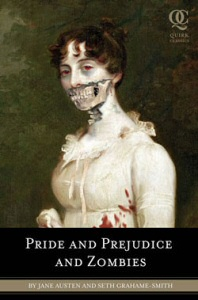 Pride and Prejudice and Zombies book cover art