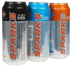Sparks alcoholic energy drink