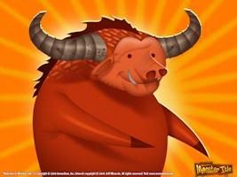 catoblepas monster red bull