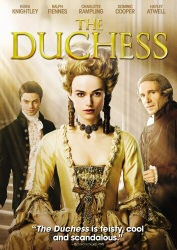 The Duchess DVD cover art