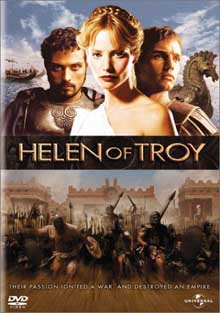 Helen of Troy DVD cover art