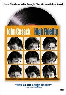 High Fidelity DVD cover art