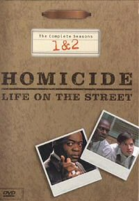 Homicide: Life on the Street: The Complete Seasons 1 and 2 DVD cover art