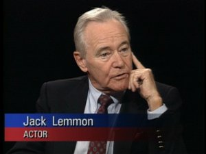 Jack Lemmon on The Charlie Rose Show