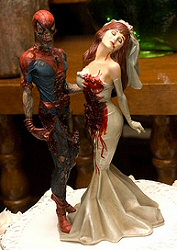 Marvel Zombies cake topper