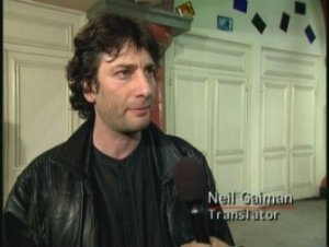 Neil Gaiman from Princess Mononoke