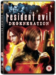 Resident Evil: Degeneration Region 2 DVD cover art