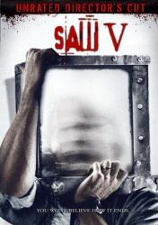 Saw V DVD cover art