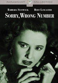 sorry wrong number dvd cover