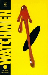 Watchmen book cover art