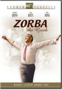 zorba the greek dvd cover