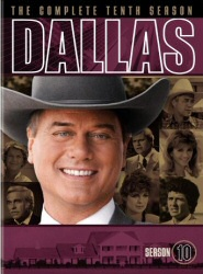 Dallas: The Complete Tenth Season DVD cover art