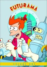 Futurama, Vol. 1 DVD cover art