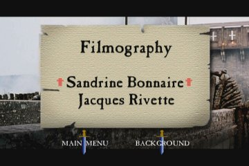 Joan the Maid DVD menu