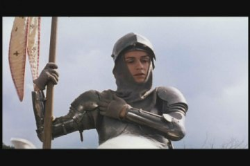 Sandrine Bonnaire as Joan of Arc in Joan the Maid