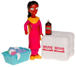 Manjula Simpsons figure