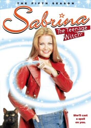 Sabrina: The Teenage Witch: The Fifth Season DVD cover art
