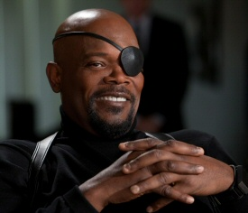 Sam Jackson is Nick Fury