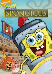 Spongebob: Spongicus DVD cover art