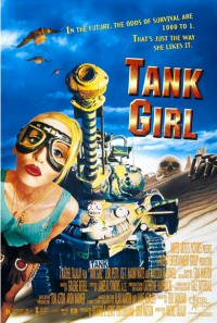 Tank Girl movie poster art
