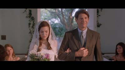 Mandy Moore and Peter Coyote from A Walk to Remember