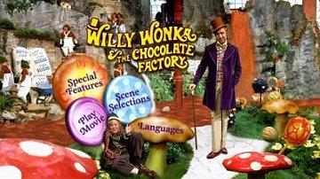 Willy Wonka DVD menu