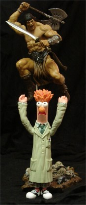 Conan vs. Beaker = Ambush!