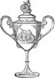 Cycling trophy