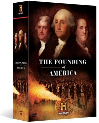 Founding of America DVD cover art
