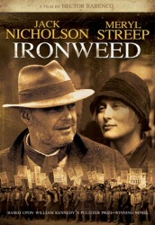 Ironweed DVD cover art
