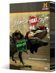 Jurassic Fight Club DVD cover art