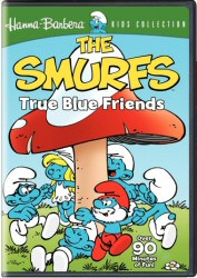 The Smurfs, Vol. 1: True Blue Friends DVD cover art