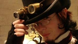 Steampunk air pirate