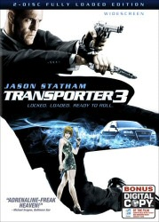 Transporter 3 DVD cover art