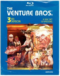 Venture Bros. Season 3 Blu-Ray cover art