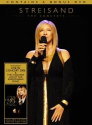 Barbra Streisand: The Concerts DVD cover art