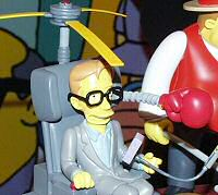 Stephen Hawking Simpsons action figure