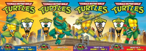 Teenage Mutant Ninja Turtles, Season 7: Vols. 1-4