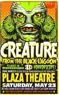 The Creature From the Black Lagoon in 3-D