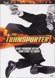 The Transporter DVD cover art