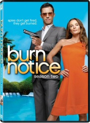 Burn Notice: Season Two DVD cover art