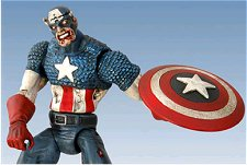 Zombie Captain America toy