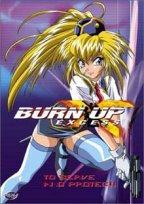 Burn Up Excess, Vol. 1: To Serve and Protect DVD cover art