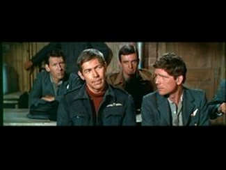James Coburn and others from The Great Escape