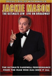 Jackie Mason: The Ultimate Jew Live on Broadway DVD cover art