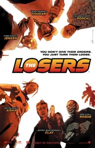 The Losers movie poster by Jock